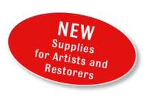 New - Supplies for Artists and Restorers