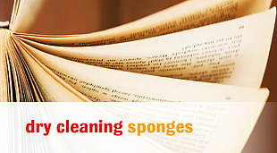 dry clearing sponges